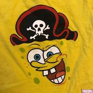 SpongeBob Squarepants Shirts & Tops - Pirate Spongebob Universal Studios Tee 2T